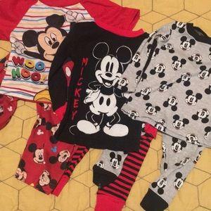 Mickey Mouse pajama set 18 mo bundle